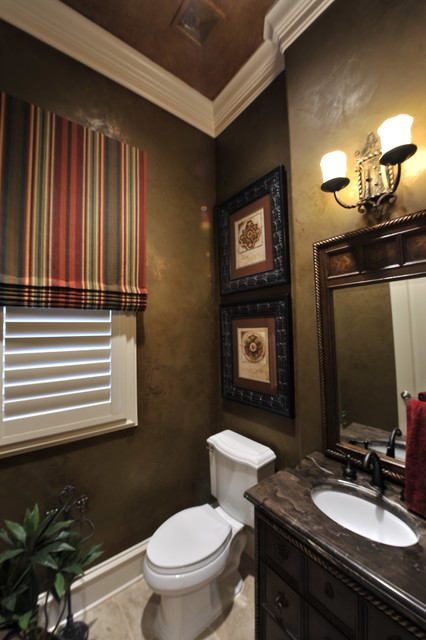 Powder Rooms Traditional Powder Room Houston By