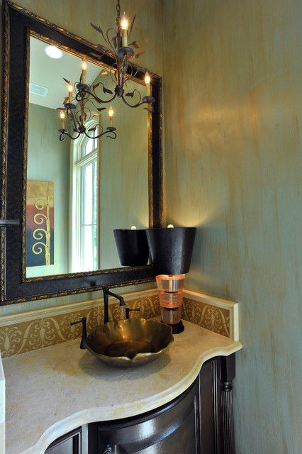 Powder Rooms modern-powder-room