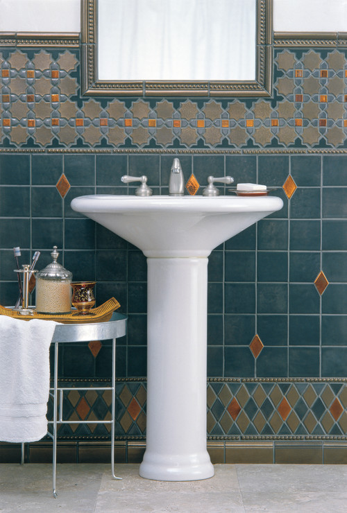 traditional powder room by Filmore Clark