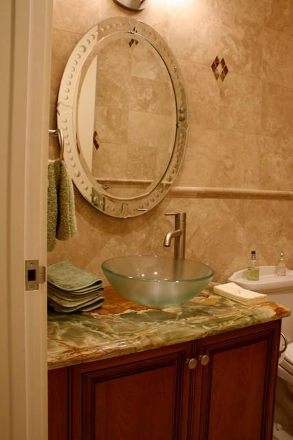 Private Residence, Polo Club, Boca Raton, Florida traditional-powder-room