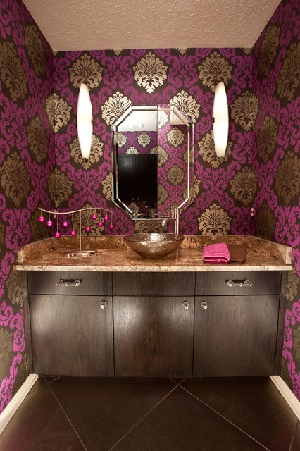 Private Residence Remodel - Omaha, NE - Eclectic - Powder Room ...