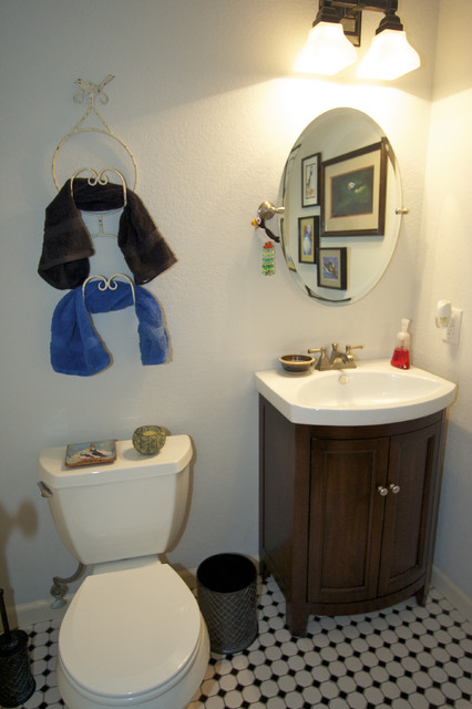 Puffin House Powder Room traditional-powder-room