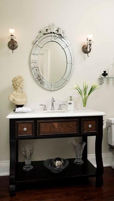 Regina Sturrock Design Inc. Classicism With a Twist traditional-powder-room