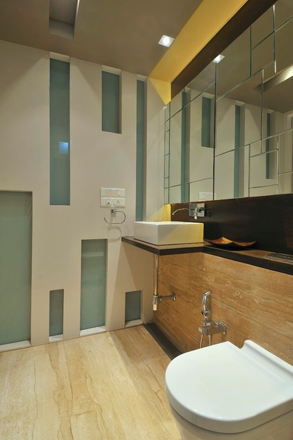 Residential project in mumbai india contemporary for Bathroom designs mumbai