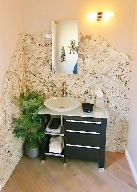 Rio Del Mar, CA modern-powder-room