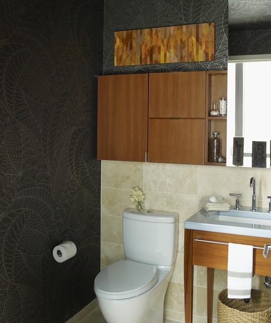 Riverhouse contemporary-powder-room