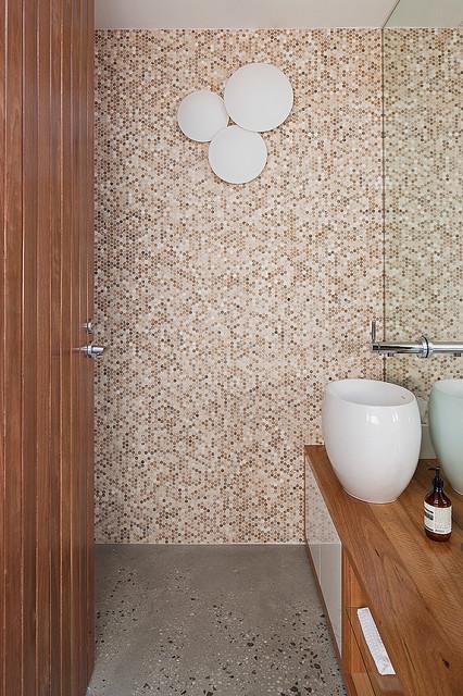 Rostill House contemporary-powder-room