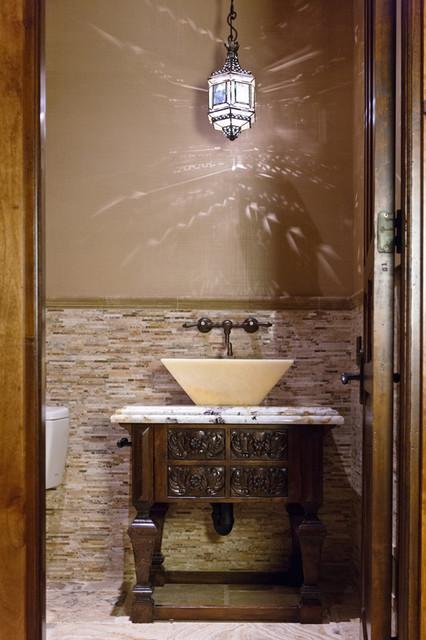 Sandy Spring Builders Bathroom contemporary-powder-room