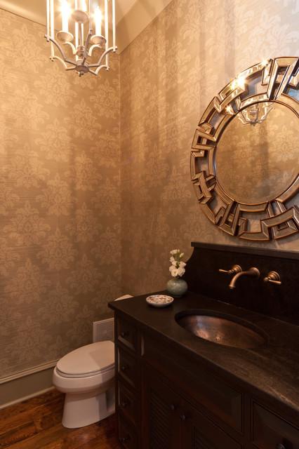 Shady Grove Powder Room transitional-powder-room
