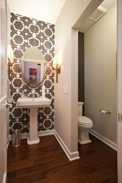 Shimon Cuthbert Residence Contemporary Powder Room