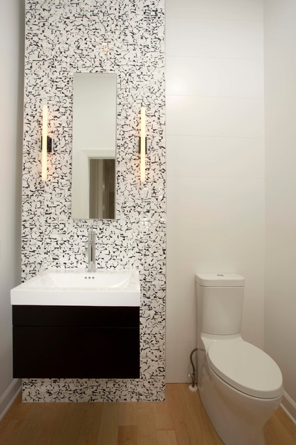 Small Bathrooms Big Design Impact Modern Powder Room