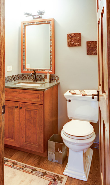 Small Bathrooms With Amazing Syle Transitional Powder