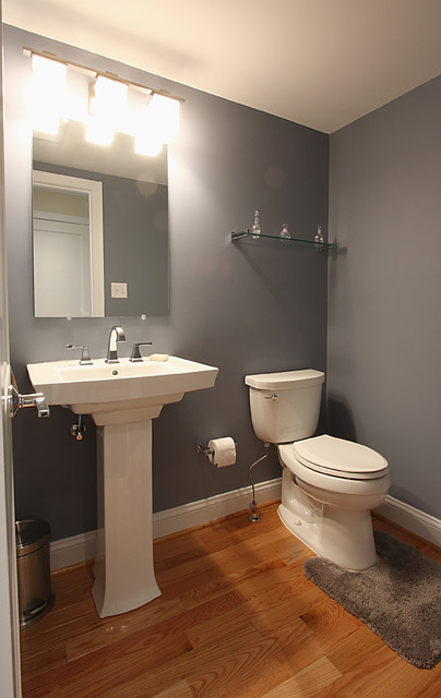 Small Powder Room Traditional Dc Metro