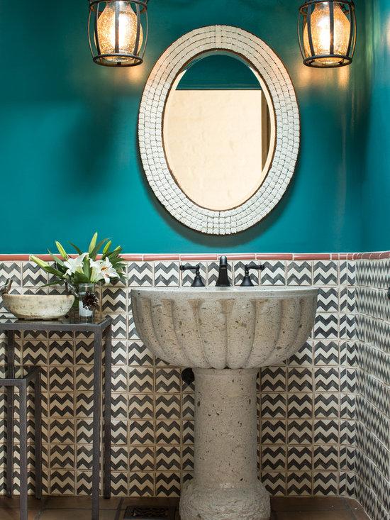 Southwestern Bath Design Ideas, Pictures, Remodel & Decor