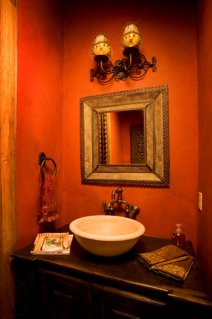 Spanish colonial home by jim boles for Spanish colonial bathroom design