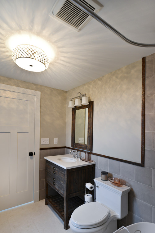 Stanley VA Powder Room Renovation