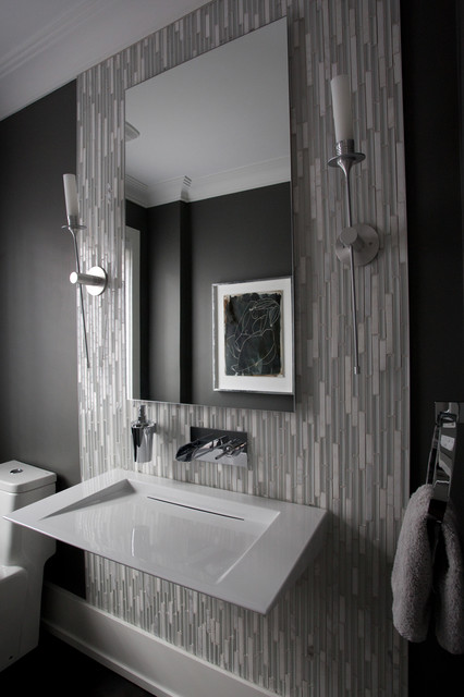 Powder Room modern-powder-room