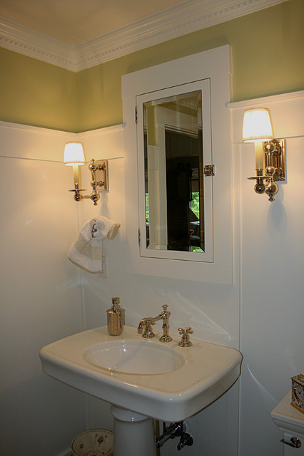 Taylor Residence traditional-powder-room