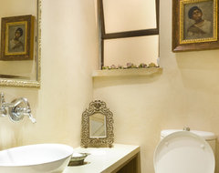 Guest WC mediterranean-powder-room
