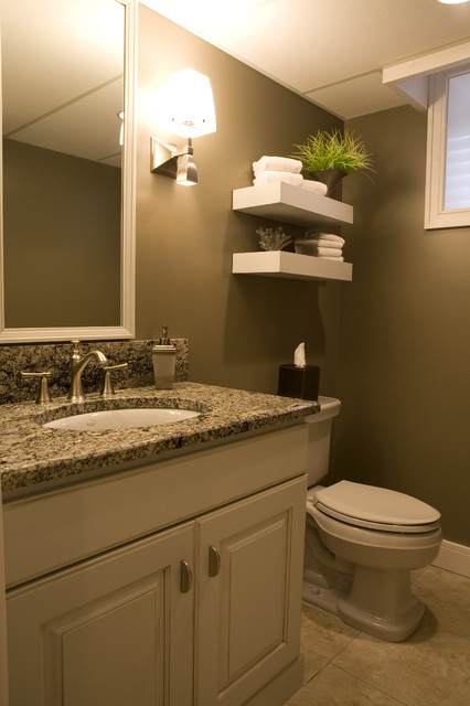 Timeless Revival traditional powder room
