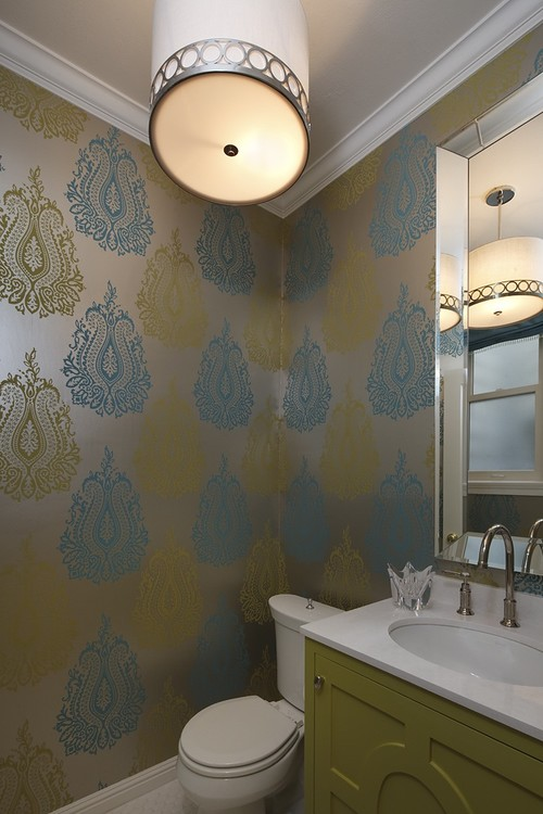 The kitchen designer 39 s diary 6 elements of a pretty Pretty powder room ideas