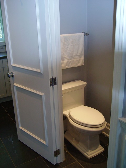 Tiny Small Bathroom Traditional Powder Room Toronto