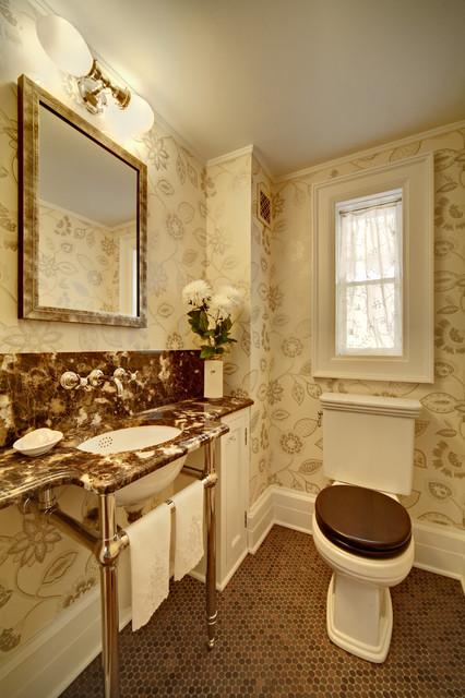 Tracey Stephens Interior Design Inc traditional-powder-room