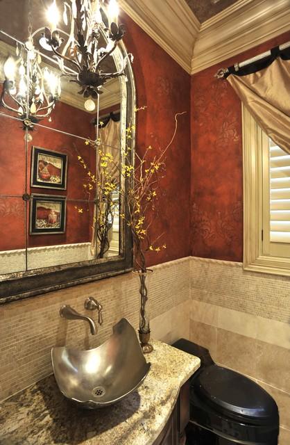 Traditional interior design lum traditional powder for Bathroom interior design houston