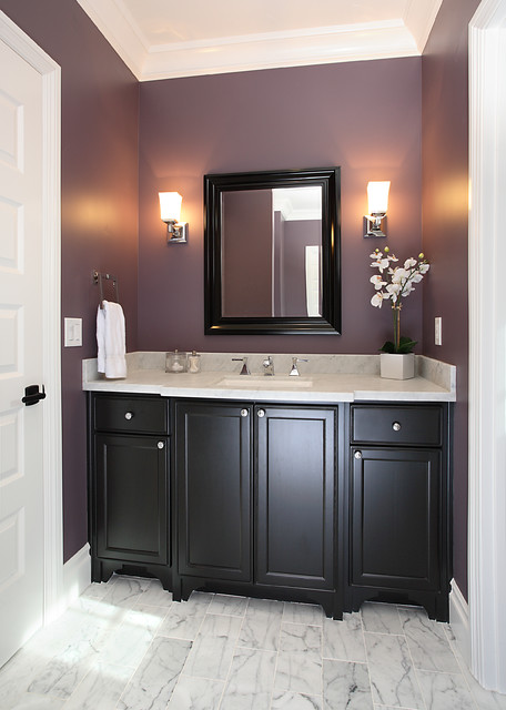 53 Owner Los Altos Traditional Powder Room