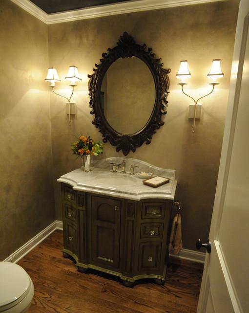 North Shore Estate Restoration-Powder Room A traditional-powder-room
