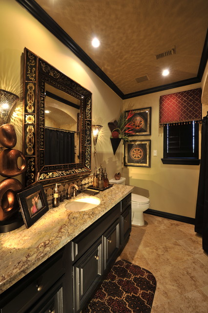 Powder Rooms Traditional Powder Room Houston By The Design Firm