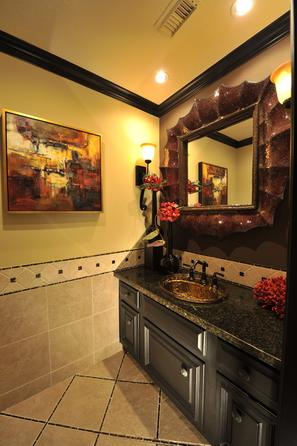 Transitional Remodel Interior Design Desai, T. transitional-powder-room