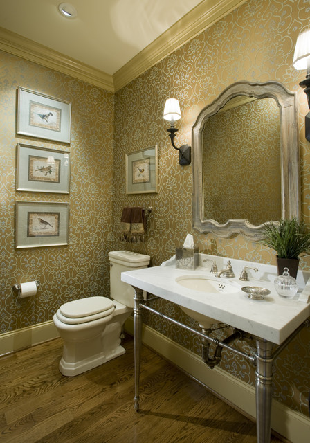 Treymore traditional powder room