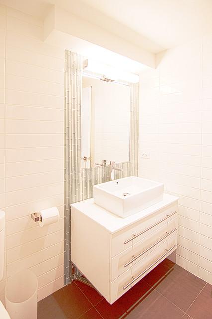 TRIBECA LOFT BATH modern-powder-room