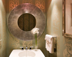 Lorraine Vale contemporary powder room
