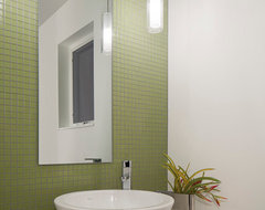 Value Driven Modern Home modern-powder-room