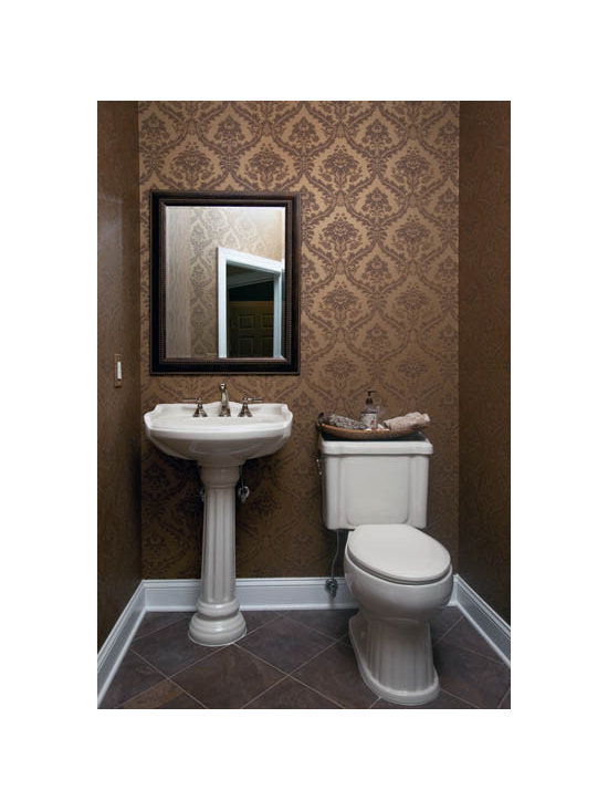 Wallpaper powder room design ideas pictures remodel and What is powder room
