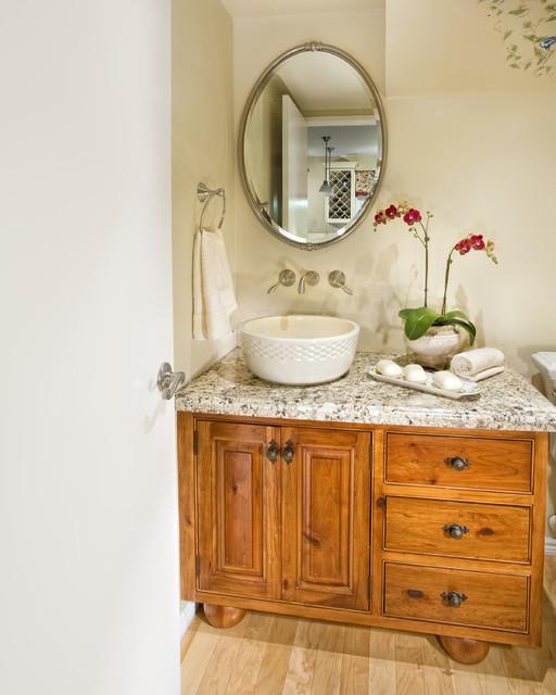 Warner Powder Bath traditional-powder-room
