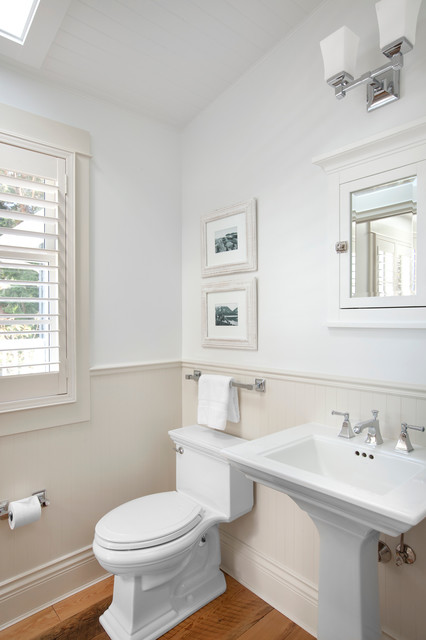 Waterfront Estate Traditional Powder Room Vancouver