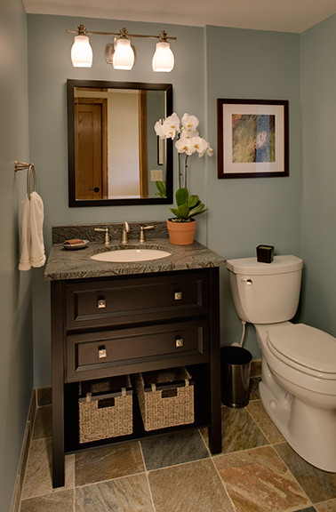 Wallner Builders traditional-powder-room