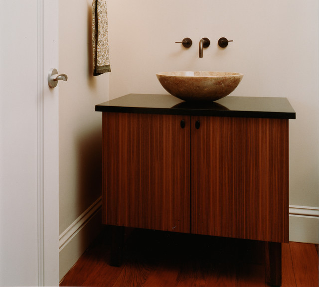 Westchester Classic contemporary-powder-room