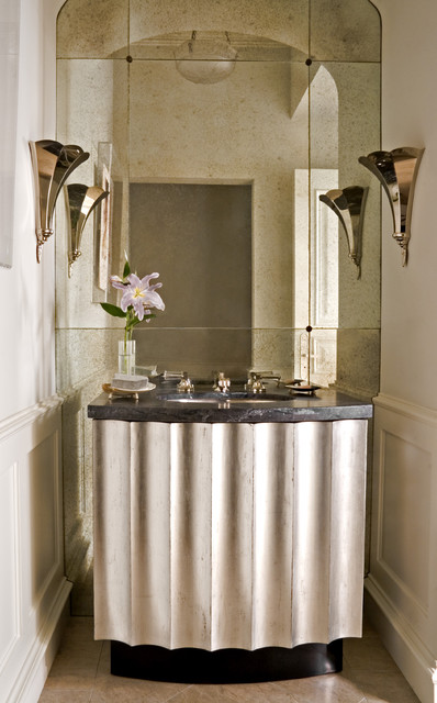 William Hefner Architecture Interiors & Landscape traditional powder room