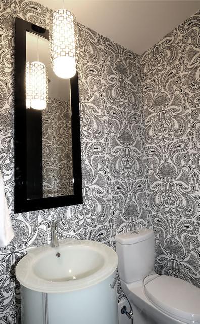 Willowgrove Powder Room contemporary-powder-room