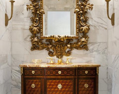 Windsor Powder traditional powder room