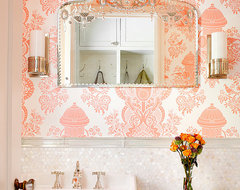 Winnetka Residence traditional-powder-room