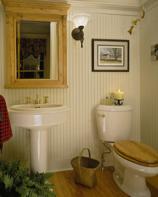woodlawn residence traditional powder room