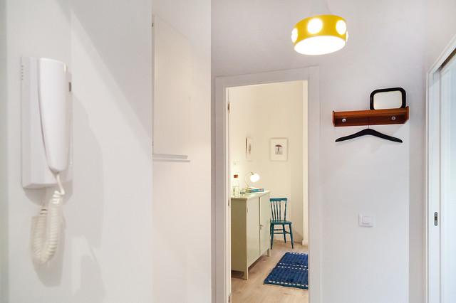 Bonsoms 44 pisos de obra nueva con cocina abierta for Cocinas abiertas al pasillo