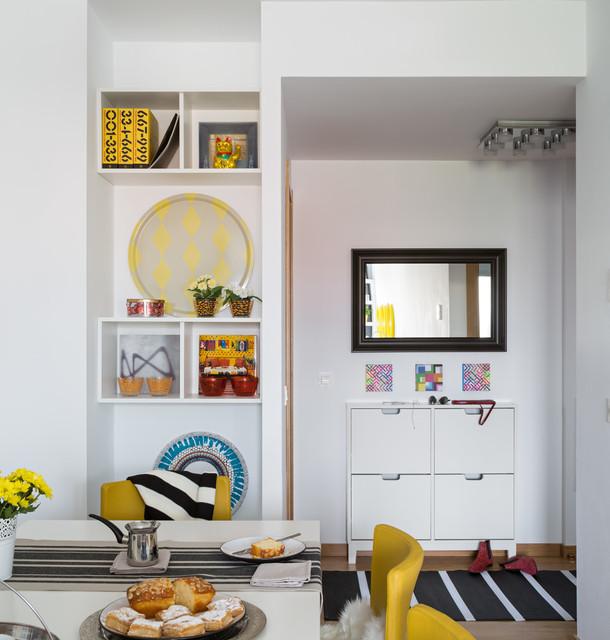 Casa ikea revista casa diez contempor neo recibidor y - Casa diez cocinas ...