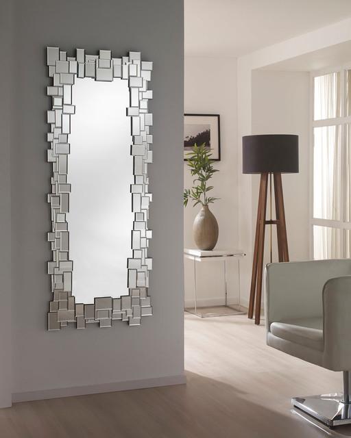 Espejos modernos todo cristal moderno recibidor y for Todo espejos