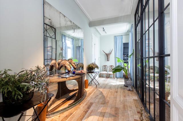 Interiorista Jaime Lacasa Piso particular eclectico-recibidor-y-pasillo